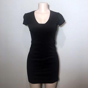 Banana Republic Tight Black Mini Dress - B8
